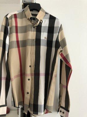 Burberry Camisa de manga larga crema
