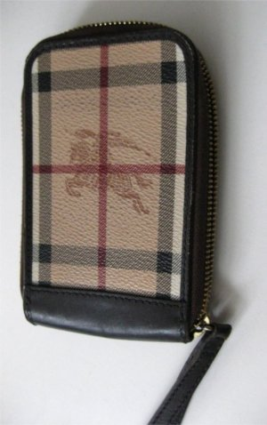 Burberry Carry Bag light brown-dark brown leather