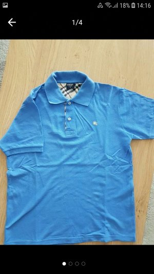 Burberry Polo shirt azuur