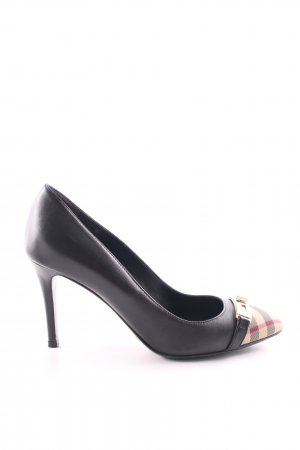 Burberry High Heels mehrfarbig Business-Look