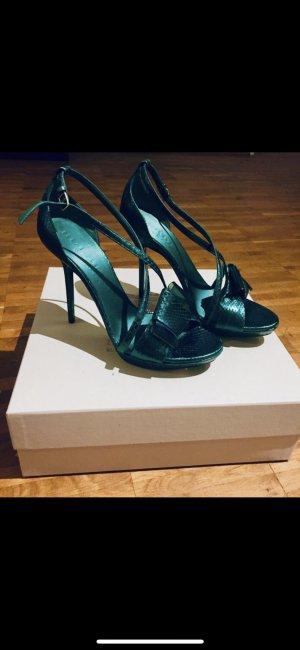 Burberry Prorsum High Heel Sandal dark green
