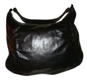 Burberry Hobo Bag Schlangenleder Ledertasche Leder Tasche grau metallic neu