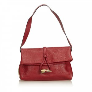 Burberry Horn-Toggle Shoulder Bag