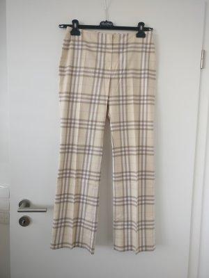 Burberry Drainpipe Trousers multicolored