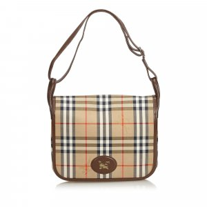 Burberry Crossbody bag beige cotton