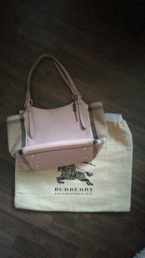 Burberry House Check Derby small Canterbury Tote Pastell