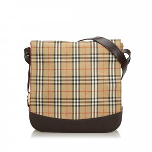 Burberry House Check Jacquard Crossbody Bag