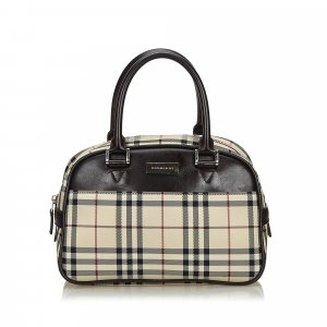 Burberry House Check Nylon Handbag