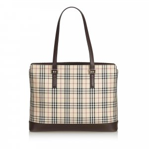 Burberry House Check Nylon Tote Bag