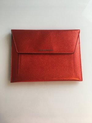 BURBERRY iPad case metallic red