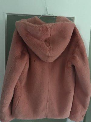 Burberry Fake Fur Jacket pink