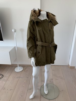 Burberry Oversized jas oker