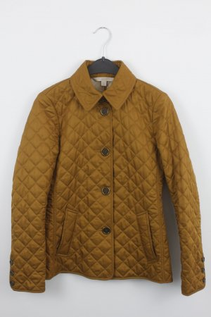 Burberry Quilted Jacket gold orange polyester