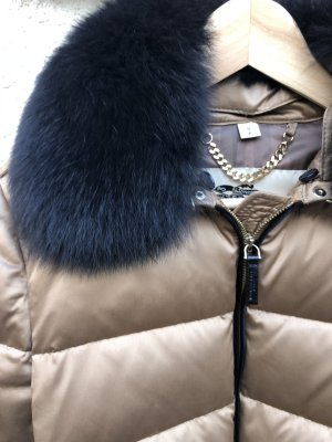 Burberry Down Jacket multicolored fur