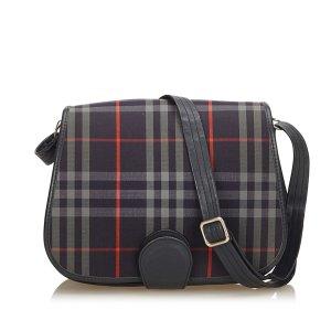 Burberry Jacquard Check Crossbody Bag
