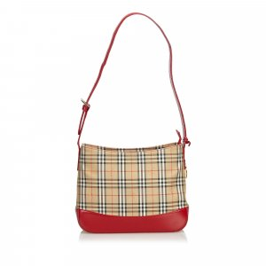 Burberry Jacquard Shoulder Bag