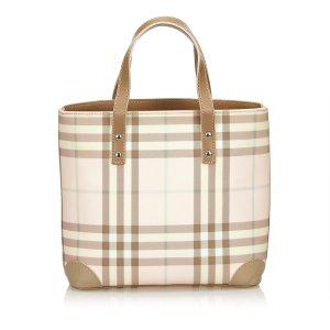 Burberry Jacquard Tote Bag