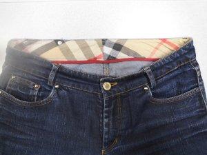 Burberry Boot Cut spijkerbroek blauw Katoen