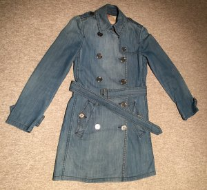 Burberry Jeans-Trenchcoat Gr. 32