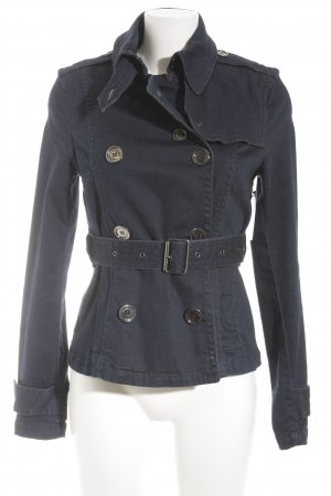 Burberry Veste en jean bleu foncé Aspect de jeans