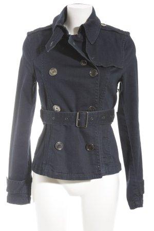 Burberry Jeansjacke dunkelblau Jeans-Optik