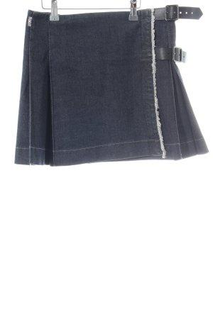 Burberry Denim Skirt blue casual look