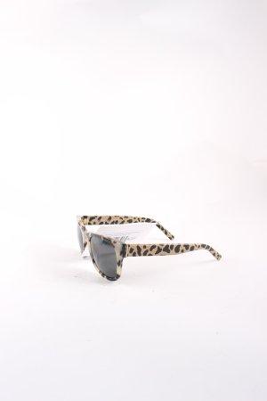 Burberry Karée Brille creme-dunkelbraun Tortoisemuster klassischer Stil