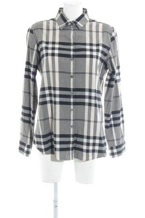 Burberry Geruite blouse geruite print Britse uitstraling