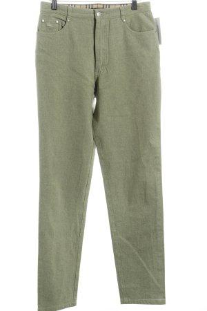 Burberry Jeans carotte vert menthe style décontracté
