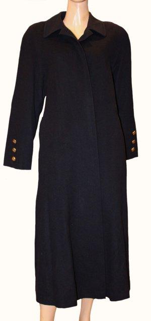 BURBERRY Kaschmir Swinger Mantel dunkelblau Eineheitsgröße 38 - 48