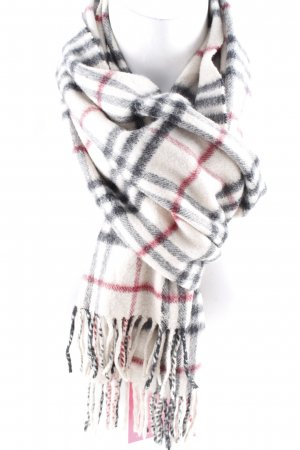 Burberry Cashmere Scarf check pattern elegant