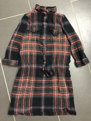 Burberry Kleid Gr. 34 36 Wolle-Mix im Schottenkaro