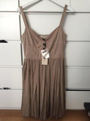 Burberry Knielanges Kleid mit Knopfleiste