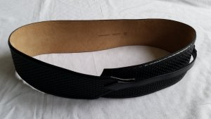 Burberry Waist Belt black leather