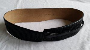 Burberry Cinturón pélvico negro Cuero