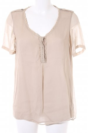 Burberry Short Sleeved Blouse beige casual look