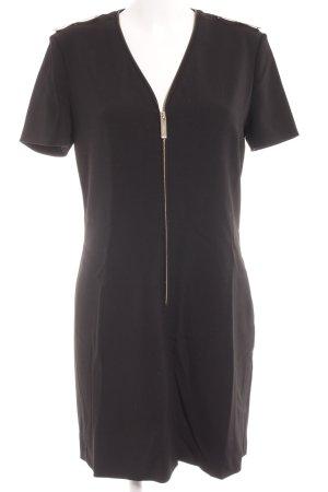 Burberry Kurzarmkleid schwarz Elegant