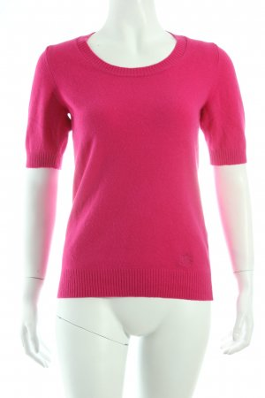 Burberry Kurzarmpullover pink schlichter Stil