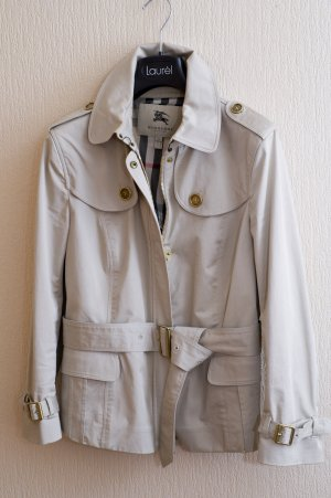 Burberry kurzer Trenchcoat aus Baumwolle, GR 36 - 38