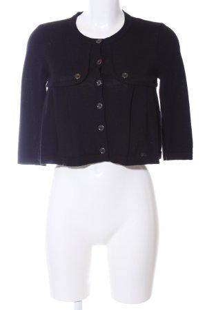 Burberry Short Jacket black Brit look