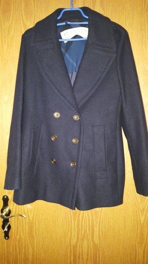 Burberry Brit Cappotto corto blu scuro Lana