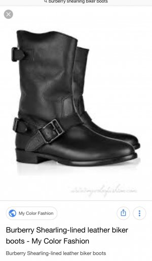 Burberry Boots black