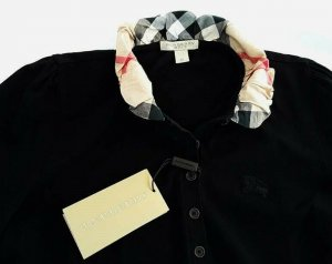 Burberry Polo multicolore coton
