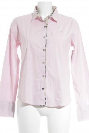 Burberry Camisa de manga larga rosa look «Brit»