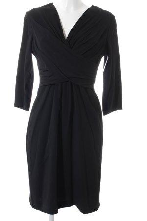 Burberry Langarmkleid schwarz Elegant