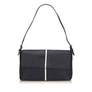 Burberry Handbag blue leather
