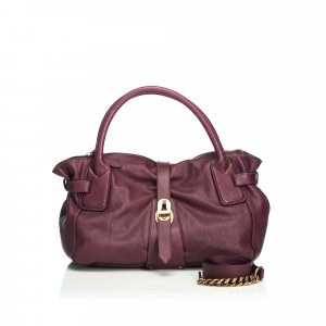 Burberry Satchel brown leather