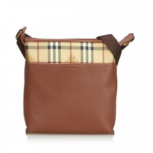 Burberry Crossbody bag brown leather