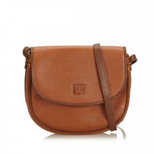 Burberry Crossbody bag light brown leather