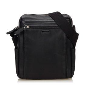 Burberry Crossbody bag black leather